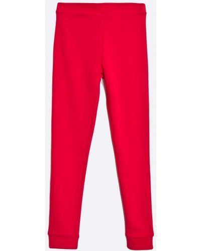 Брюки на резинке красный Guess Jeans