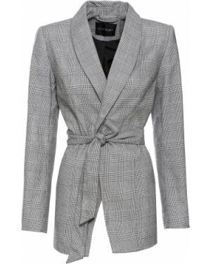 Пиджак двубортный с поясом Bonprix