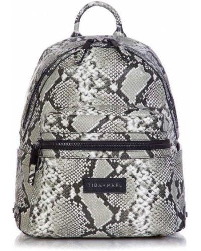 Рюкзак черный серый Tiba + Marl