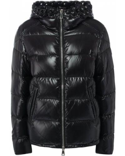 Стеганая куртка с капюшоном на молнии Moncler