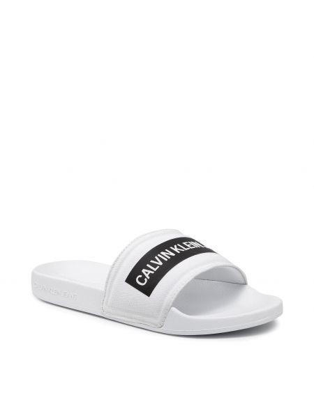 Sandały casual - białe Calvin Klein Jeans