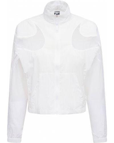 Нейлоновая куртка - белая Nike