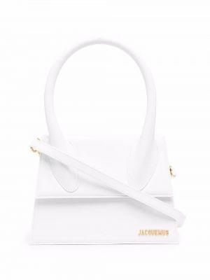 Белая сумка с логотипом Jacquemus