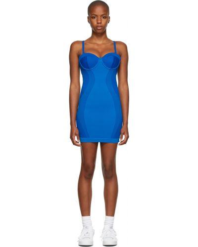 Синее платье короткое Adidas X Ivy Park