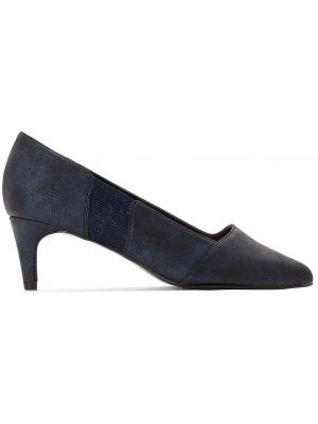 Туфли на высоком каблуке кожаные на каблуке Mademoiselle R
