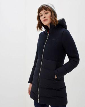 Зимняя куртка осенняя синий Lacoste