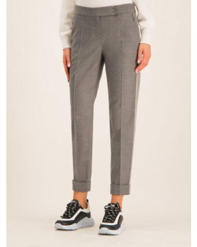 Szare spodnie materiałowe Laurel