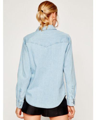 Niebieska koszula jeansowa Levi's