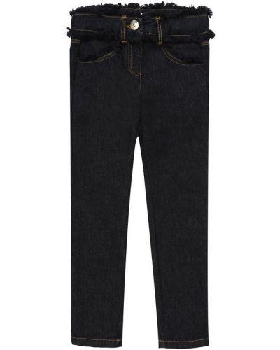 Прямые джинсы укороченные с карманами Chloé