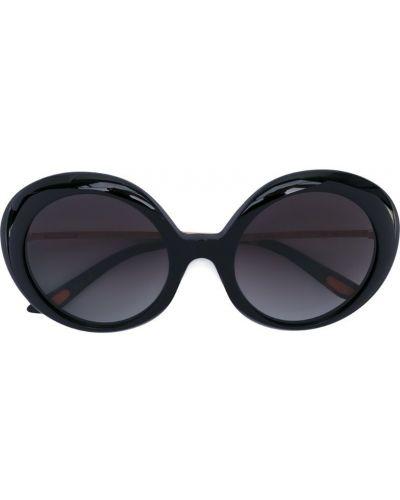 Черные солнцезащитные очки с завязками Christian Roth