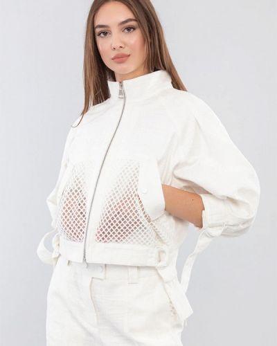 Облегченная белая куртка Maxa