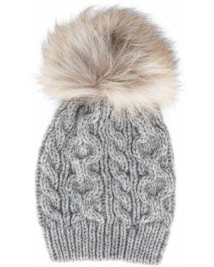 Prążkowany kapelusz wełniany Woolrich Kids