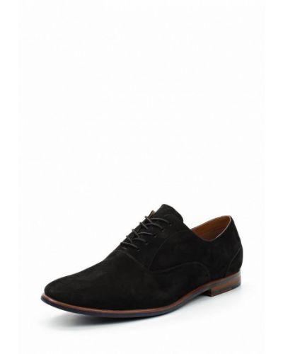 Коричневые туфли замшевые Aldo
