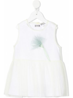Bluzka tiulowa - biała Il Gufo