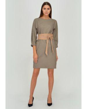 Платье с поясом платье-сарафан с карманами Viserdi