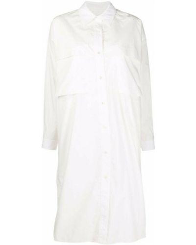 Biała sukienka Lemaire