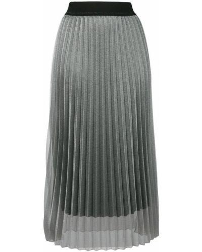 Плиссированная юбка многоярусная прозрачная Luisa Cerano
