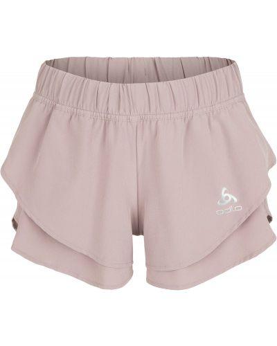Спортивные шорты розовый с карманами Odlo