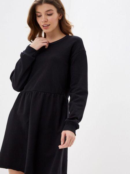 Платье прямое черное Tezenis