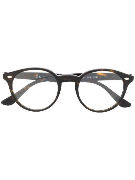 Очки авиаторы круглые металлические хаки Ray-ban