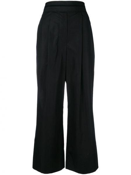 Szerokie spodnie przycięte z wysokim stanem Alexander Wang