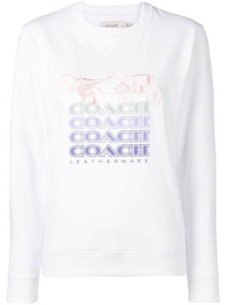 Топ длинный Coach