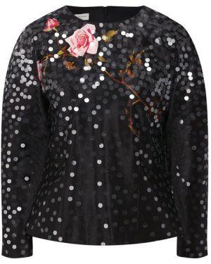 Блузка с пайетками Dries Van Noten