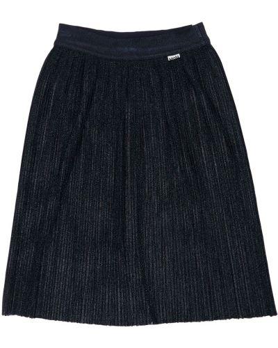 Плиссированная юбка - черная Molo