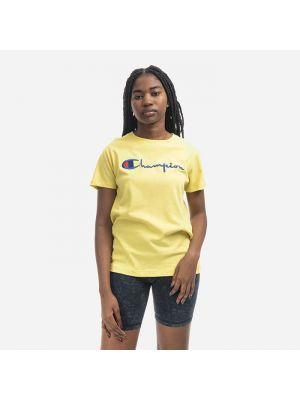 Желтая рубашка Champion