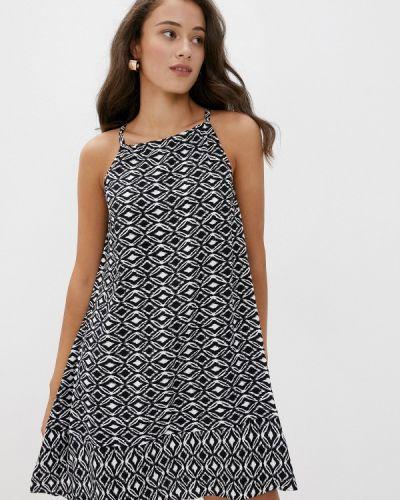 Прямое черное платье Top Secret