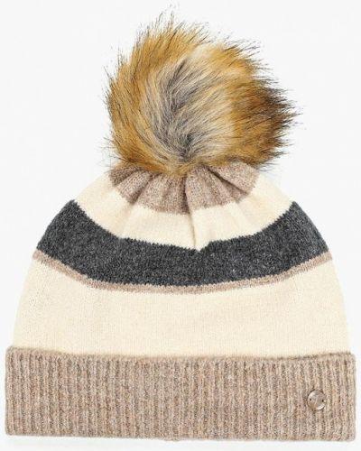 Бежевая шапка осенняя Tom Tailor