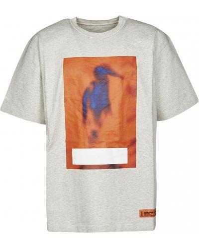 Szara t-shirt Heron Preston