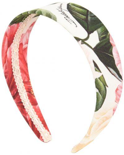 Opaska na głowę wzór w kwiaty Dolce And Gabbana
