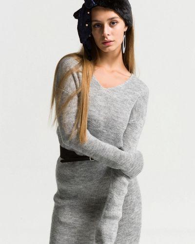 Платье - серое Ltb