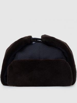 Кашемировая шапка - синяя Enrico Mandelli