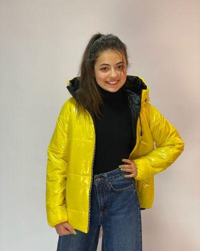 Желтая куртка Cvetik