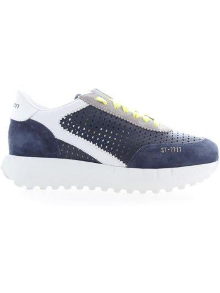 Niebieskie sneakersy Stokton
