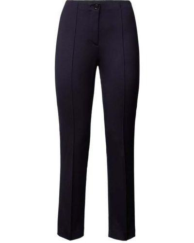 Niebieskie spodnie z wiskozy Marc Cain