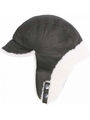 Biała czapka Simonetta Ravizza