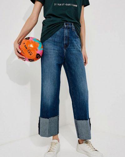 Синие прямые джинсы J Brand