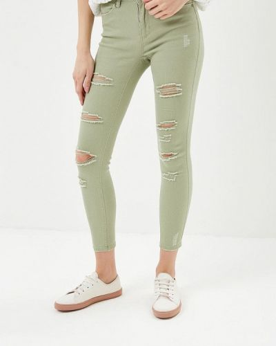 Зеленые брюки Jennyfer
