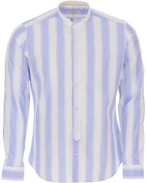 Koszula z długim rękawem lato długa Tintoria Mattei 954