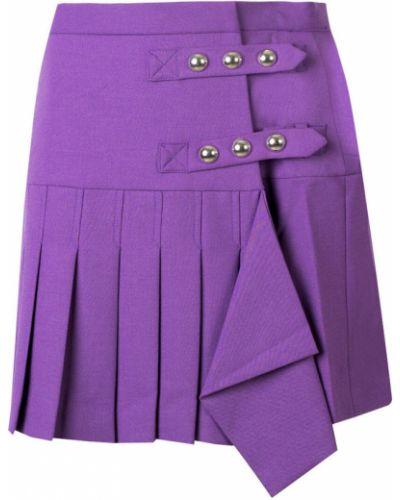 Spódnica plisowana - fioletowa Pinko