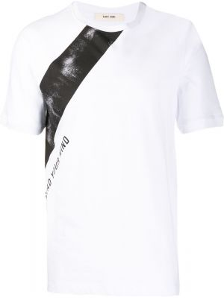 Biały t-shirt bawełniany krótki rękaw Damir Doma