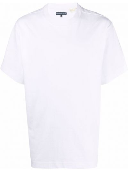Белая хлопковая футболка Levi's®  Made & Crafted™
