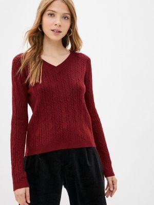 Бордовый пуловер Goldrai