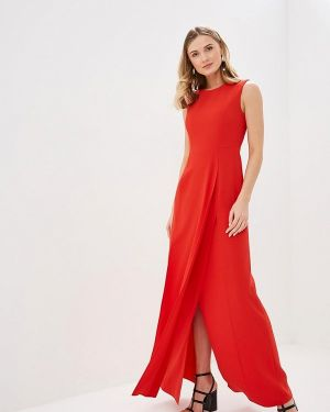 Вечернее платье красный Adolfo Dominguez