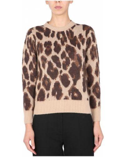 Brązowy sweter Anna Molinari