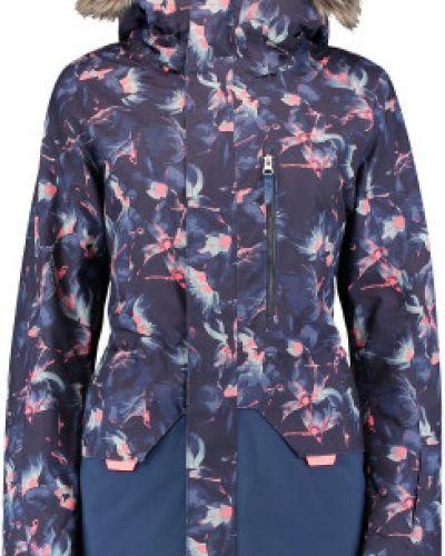 Теплая синяя прямая куртка O`neill