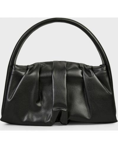Кожаный клатч - черный Themoirè